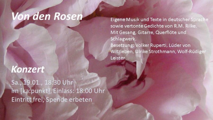 Von den Rosen