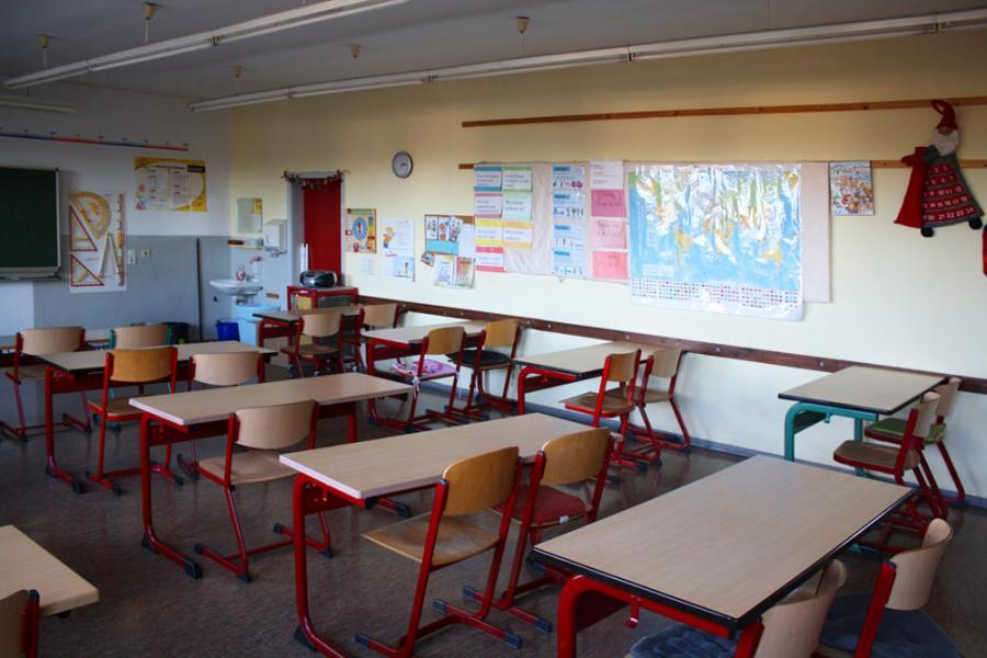 Klassenraum Klasse 3c