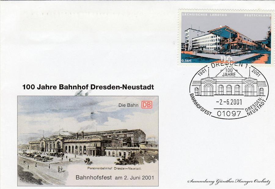 100 Jahre Bahnhof Dresden-Neustadt  Bahnhofsfes