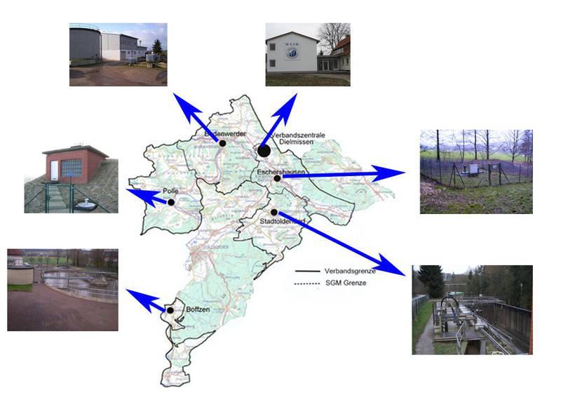 Standorte WVIW
