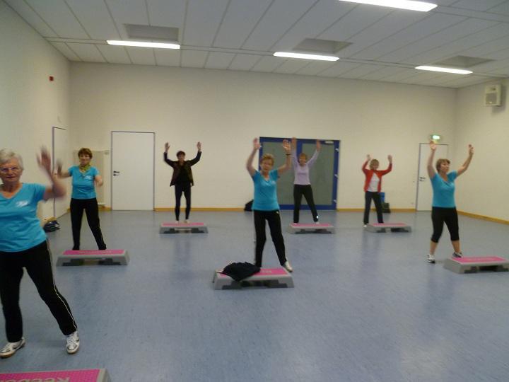 Übungen mit Stepbrett
