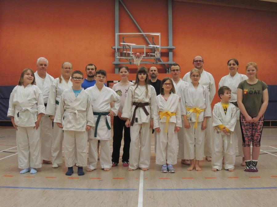 Gruppenbild Karate 2018