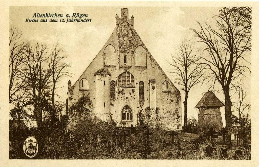Altenkirchen a. Rügen Kirche aus dem 12. Jahrhundert