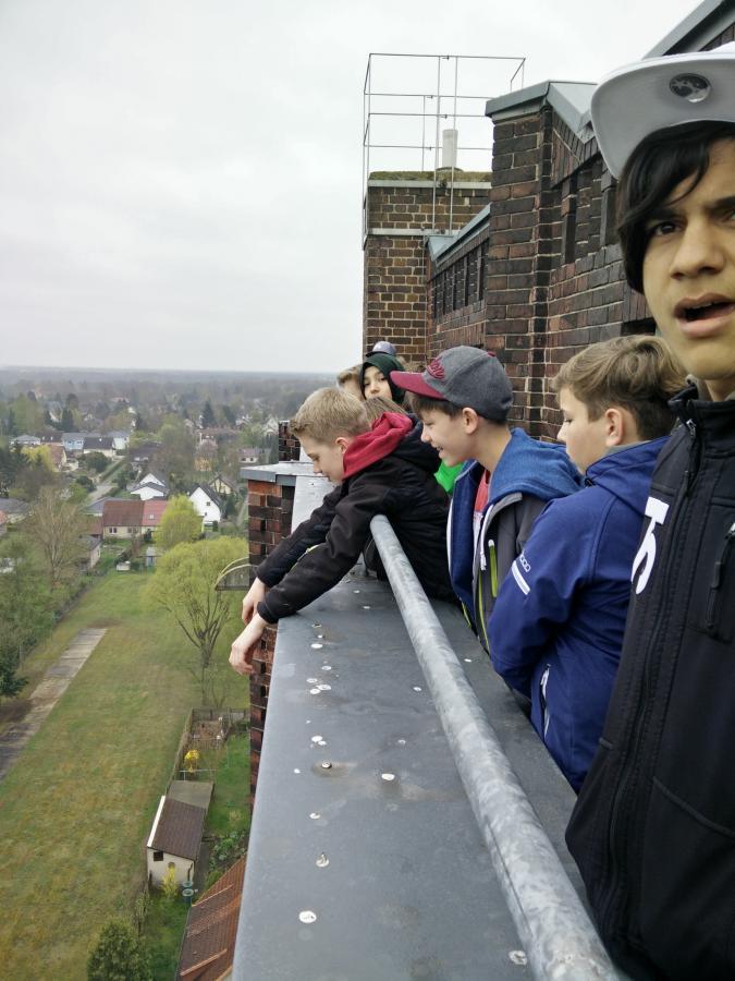 Blick vom Wasserturm