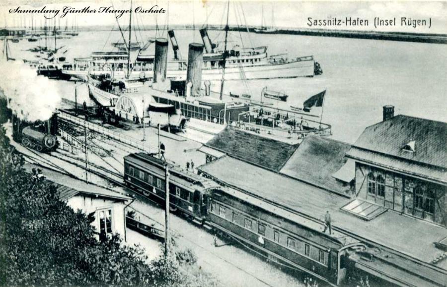 Sassnitz Hafen Insel Rügen
