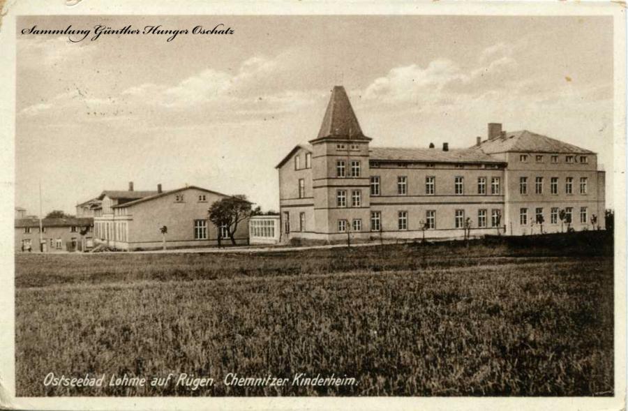 Ostseebad Lohme auf Rügen  Chemnitzer Kinderheim