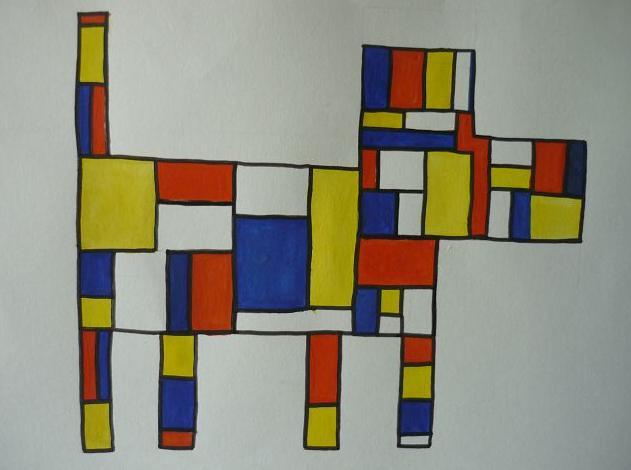 Mondrian von Mariella