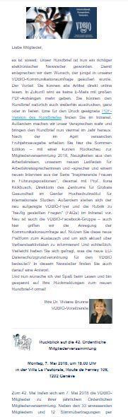 Webansicht-Deckblatt VDBIO-Rundbrief