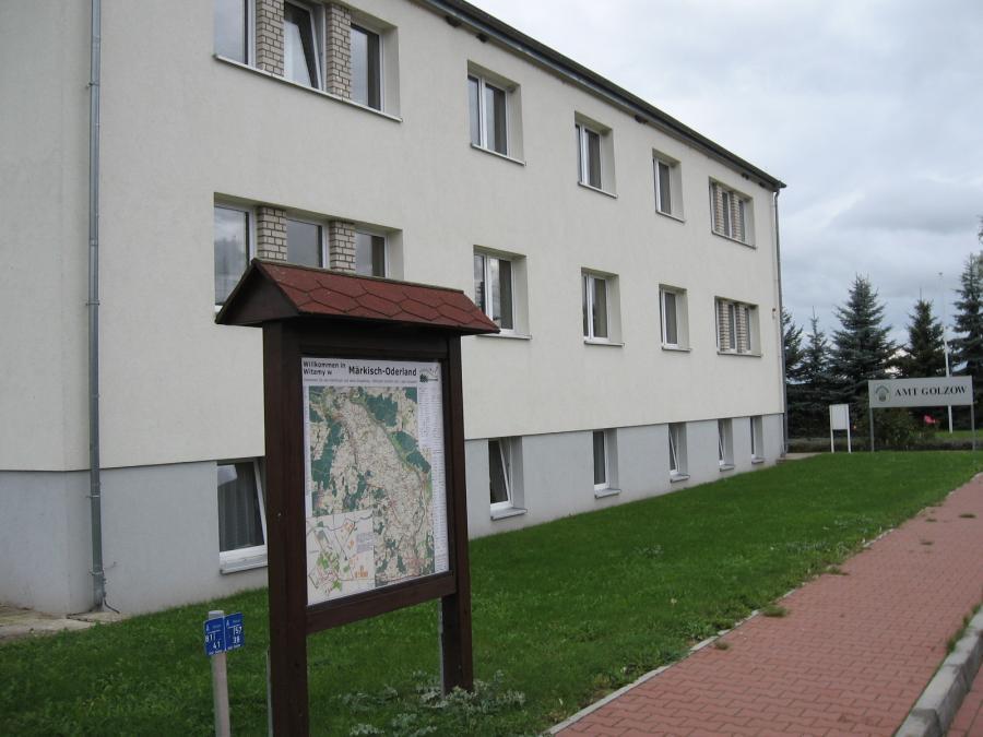Gebäude der Amtsverwaltung Golzow