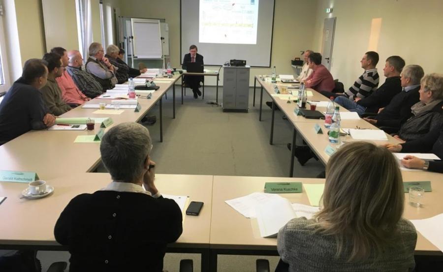 Teilnehmer des BLAk-Seminars in Neuseddin