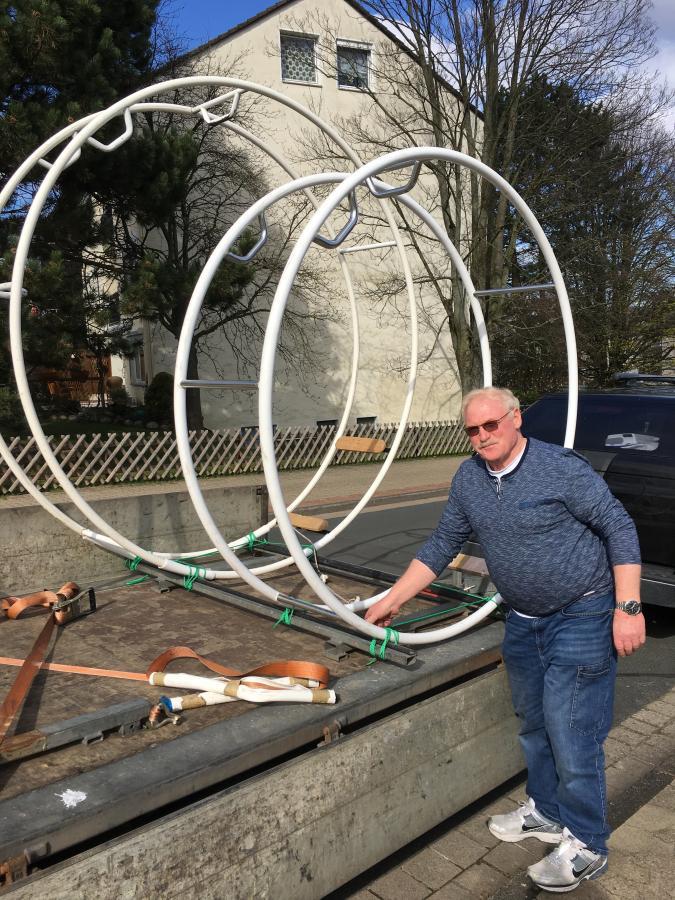 Das neue Rhönrad 1,80m