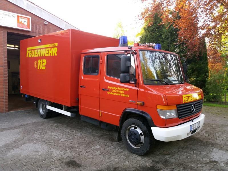 Feuerwehrfahrzeug-Gerätewagen