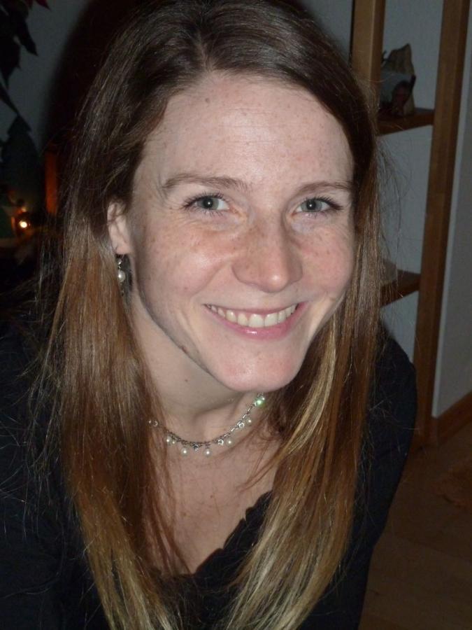 Lisa Bamberg, zurzeit in Elternzeit