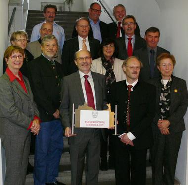 Gründung der Stiftung am 03.11.2012 im Rathaus der Stadt Simbach a. Inn