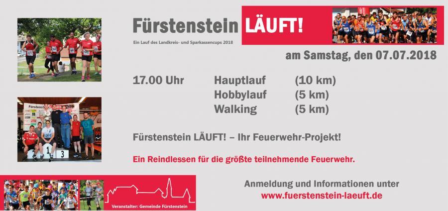 Fürstenstein Läuft - Feuerwehr
