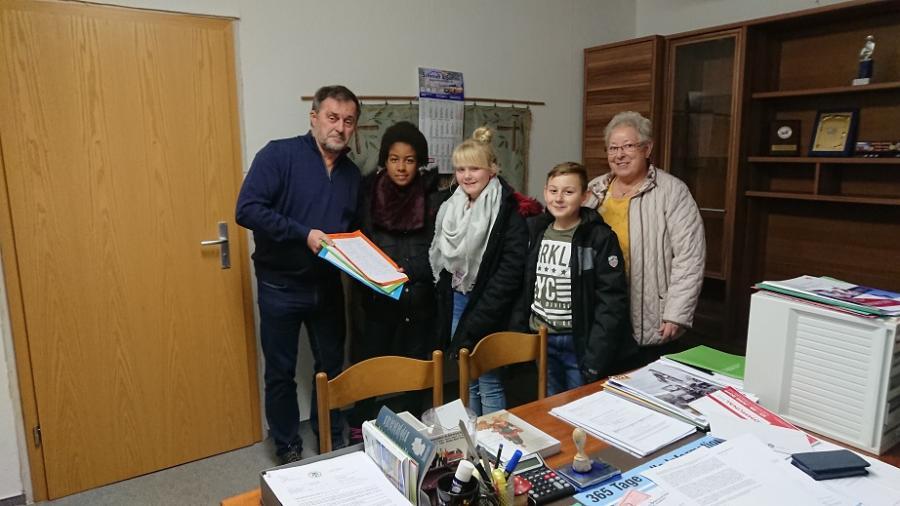 Kindertreff Tarthun sammelt Unterschriften für Tine