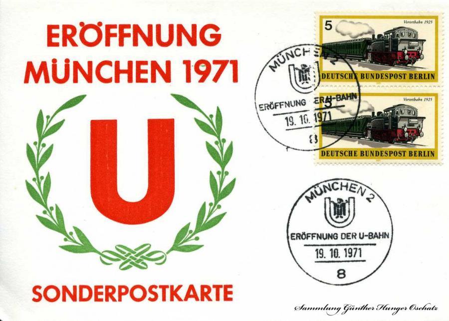 Eröffnung München 1971