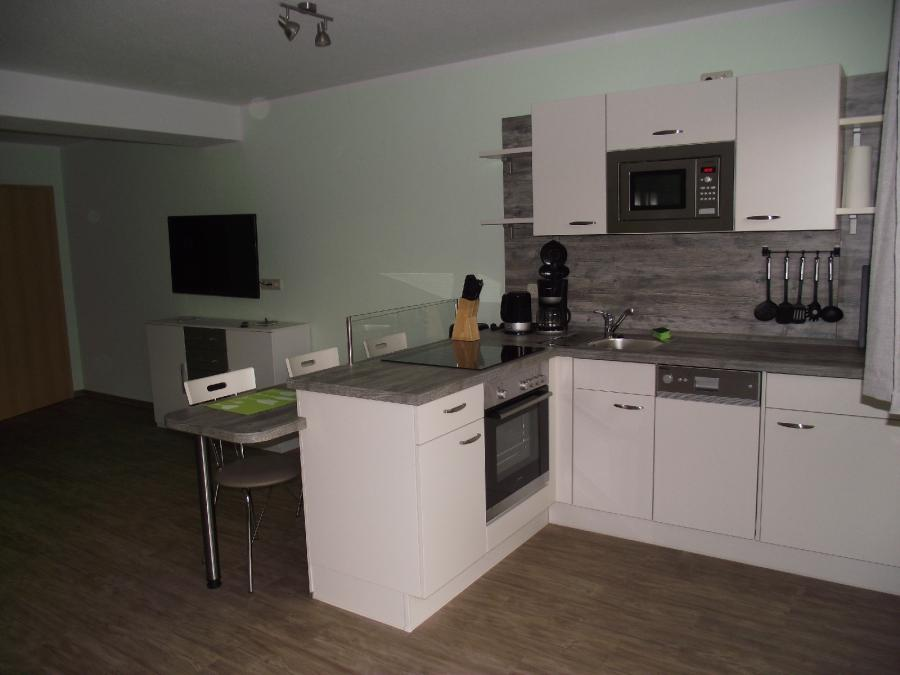 Küche und Essbereicht