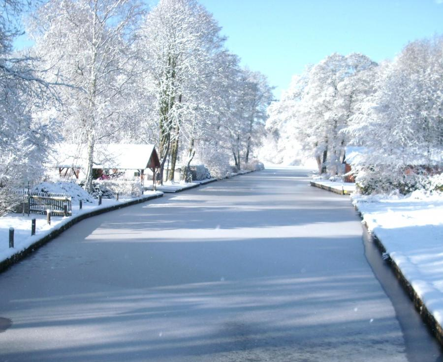 WINTERLANDSCHAFT IN Groß Köris