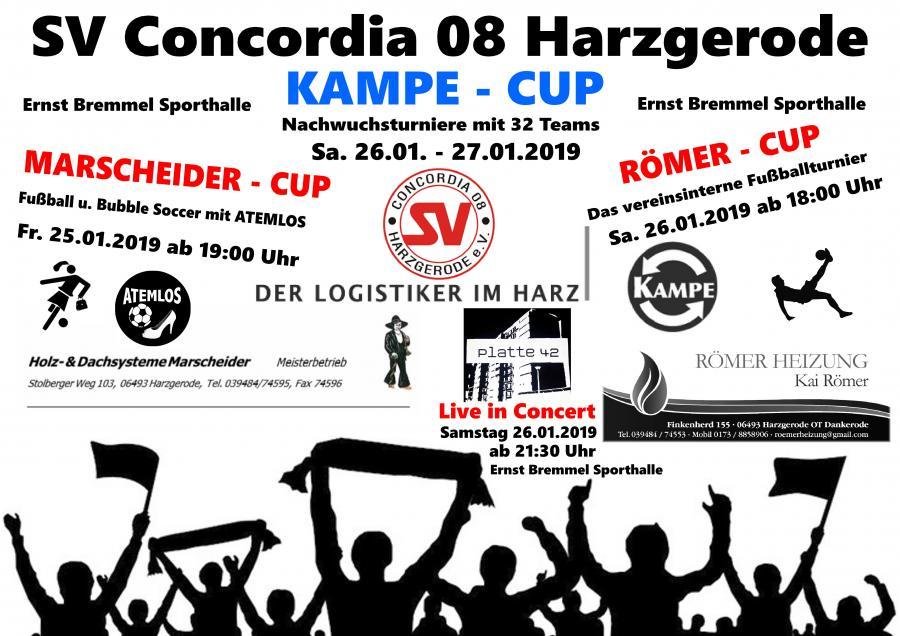 SV Concordia 08 Hallencup 2019
