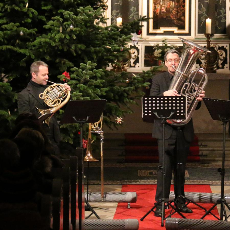 Konzert mit Wirelessbrass am 3. Adven