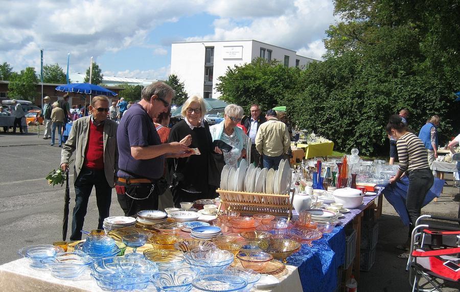 Flohmarkt beim Museumsfest