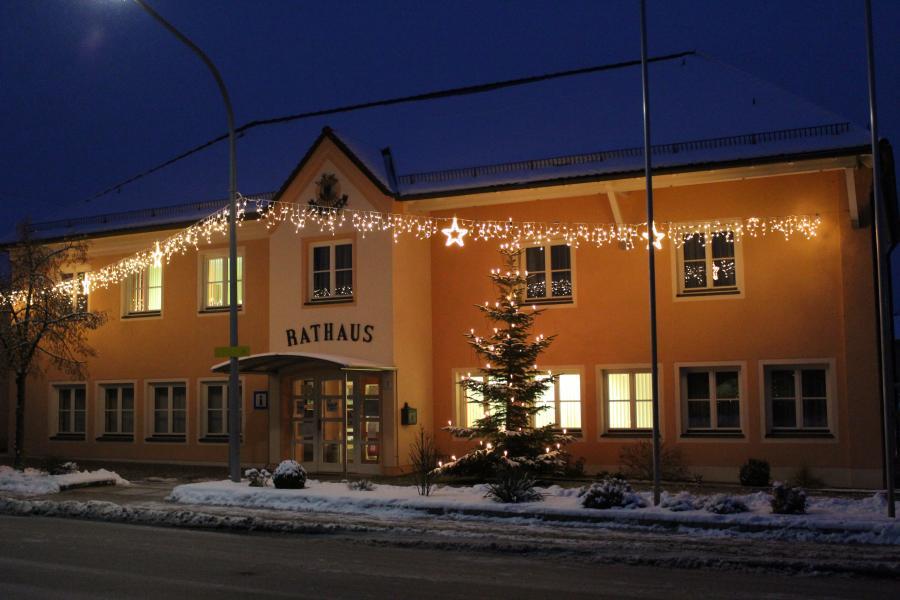 Rathaus Winter
