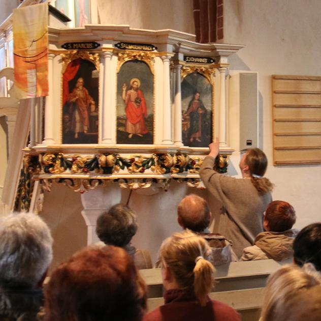Abendgottesdienst am 24. April 2015