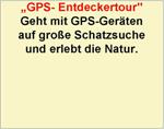 GPS Entdeckertour
