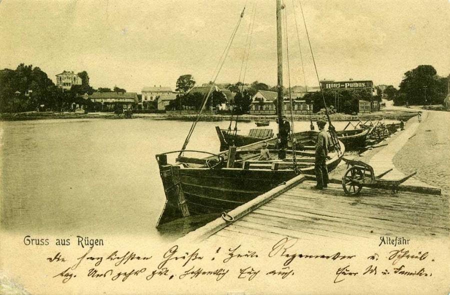 Gruss aus Rügen Altefähr 1905