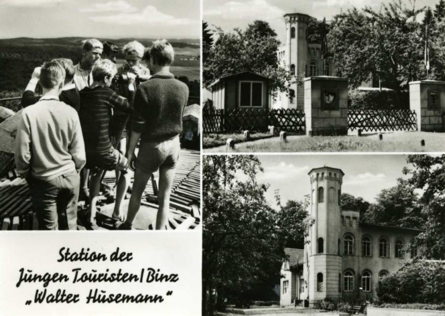 """Station der Jungen Touristen Binz """"Walter Hüsemann"""""""