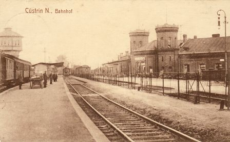 Bahnsteig Küstrin Neustadt