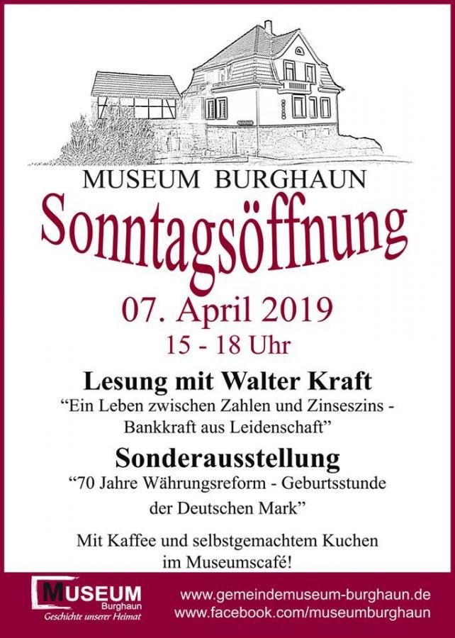 Sontagsöffnung April 2019