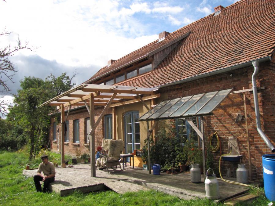 Übernachtungsmöglichkeiten im Gemeinschaftszentrum Augzin Foto: J. Gössling