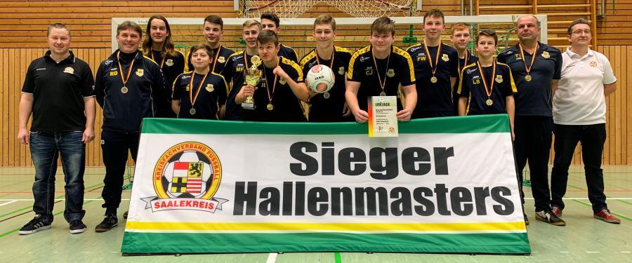 Hallenmaster B-Junioren // JSG Geiseltal