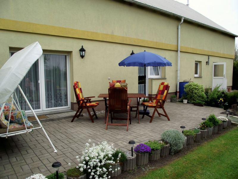 Eixen - Ferienwohnung Schulz - Terrasse