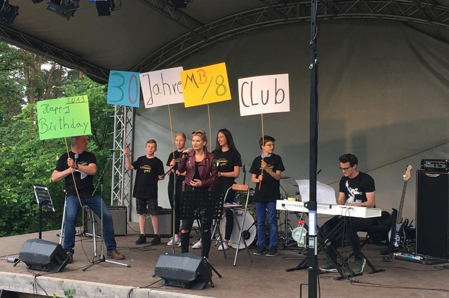 Live Musik am Grunewaldturm