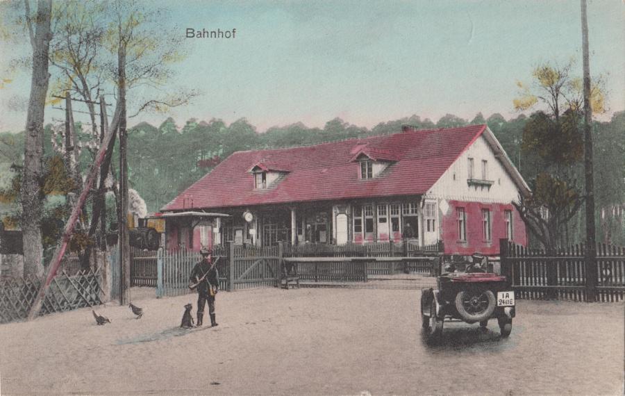 Hist. Ansicht Bahnhof Hangelsberg