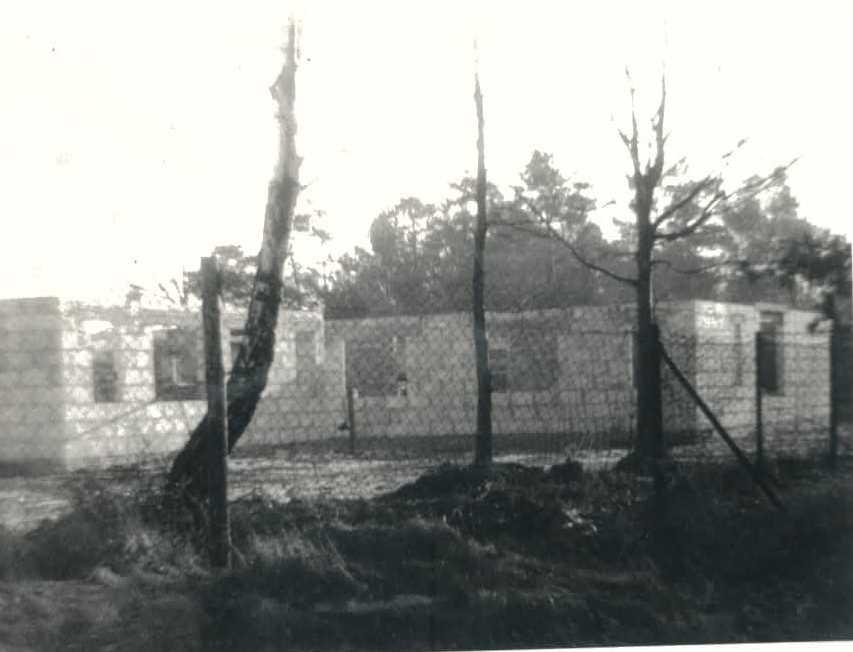 Januar 1989, die ersten Wände stehen