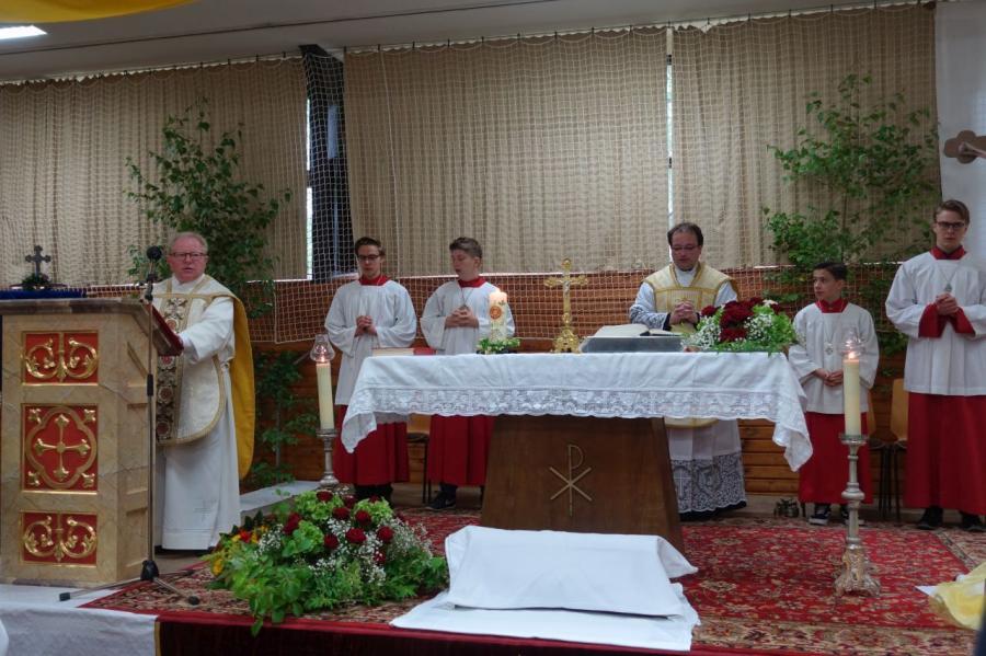 Priesterjubiläum Blaibach 2019