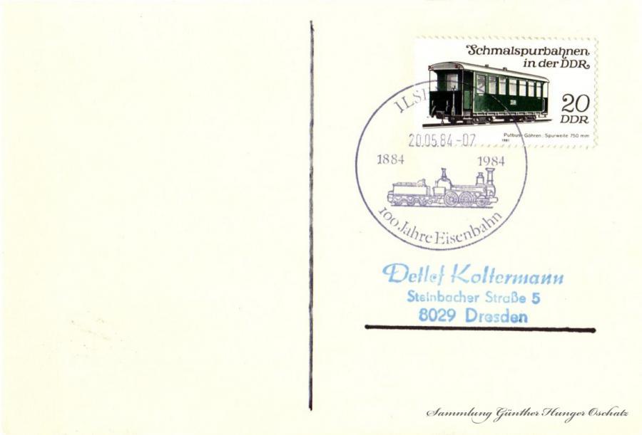 Postkarte  20.05.84