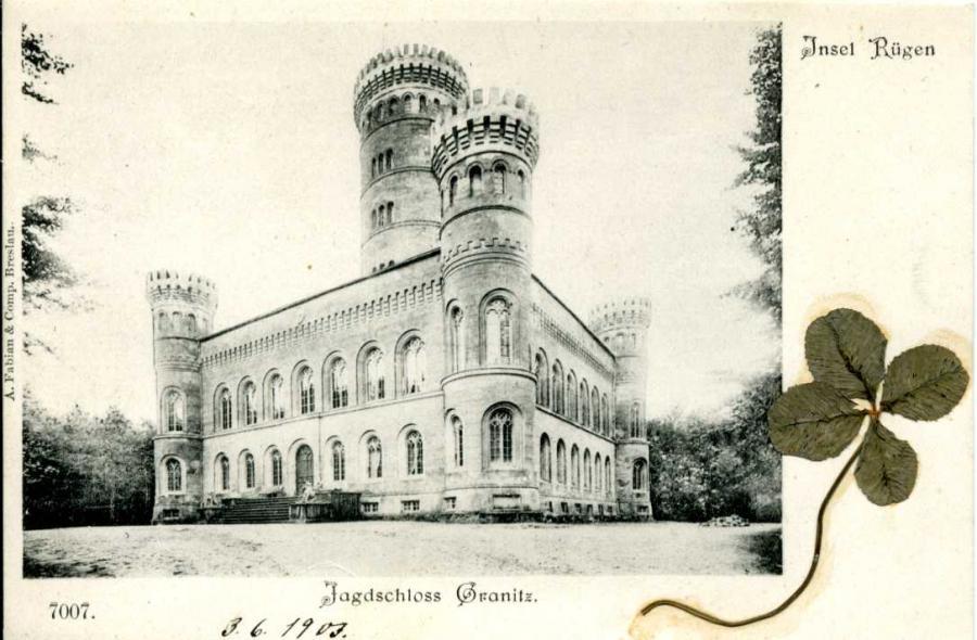 Insel Rügen Jagdschloss Granitz 1903
