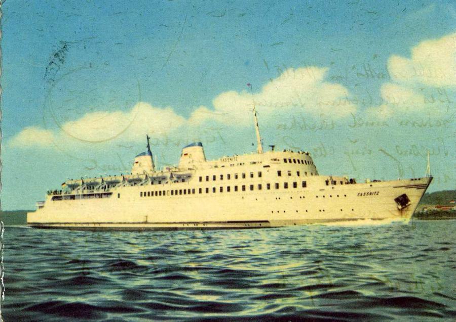 Eisenbahnfährschiff 1960