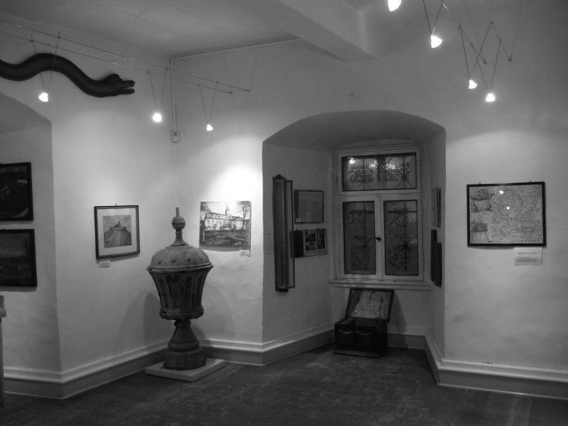 ehemaliger Ausstellungsraum Porzellan Veilsdorf 2013