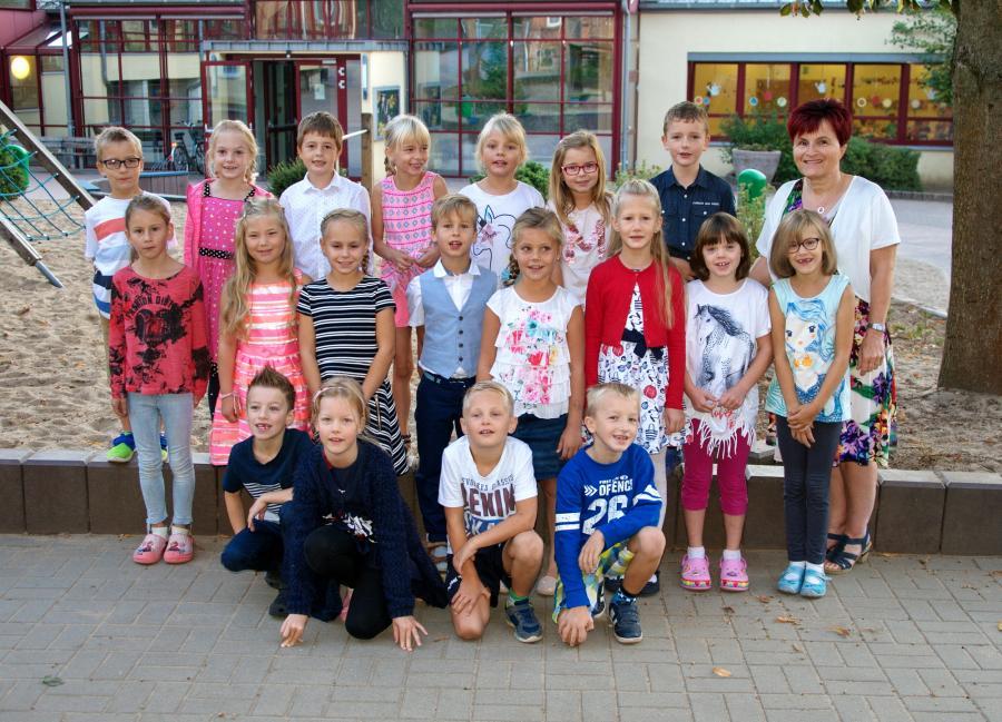 Klasse 1c mit Frau Böwe