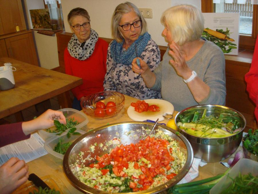 Kommunikatives Kochen - eigenes Bild