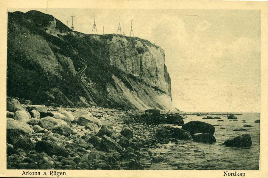 Arkona a Rügen Nordkap