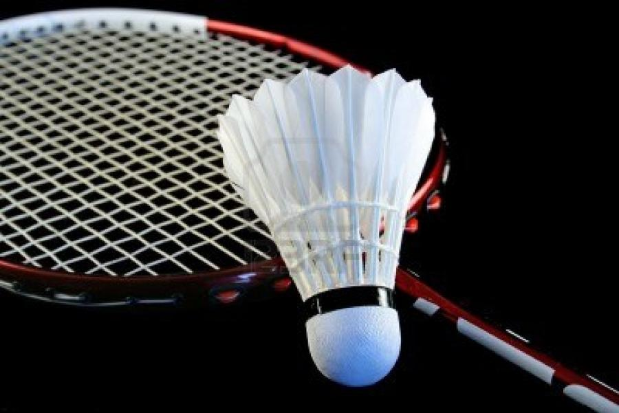 Badminton Bild
