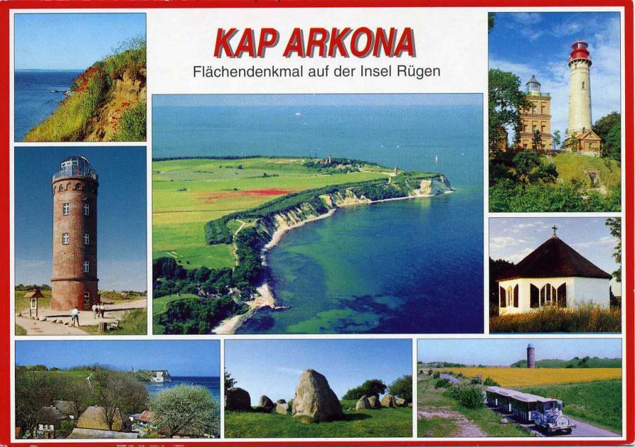 Kap Arkona Flächendenkmal auf der Insel Rügen