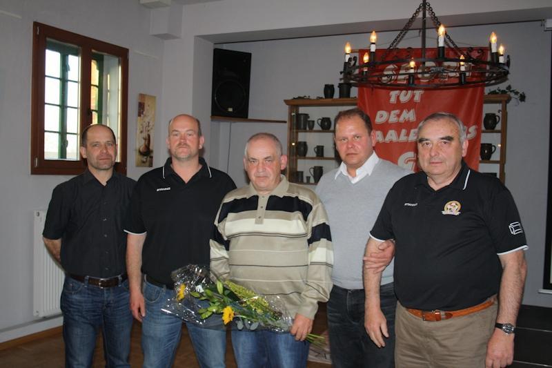 v.L. O.Glage, Tilo Berndt, Harald Kautzsch, Jens Prinzing, Werner Kühn